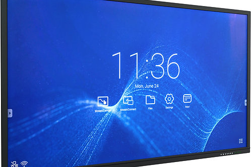 "NEC 65"" 4K UHD Collaborative Touchscreen Display"