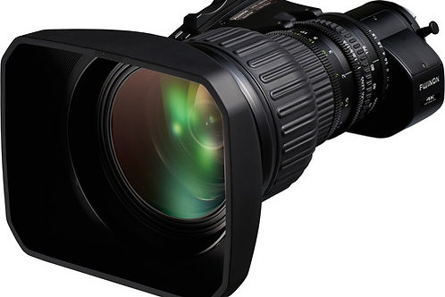 "Fujinon UA22x8BERD UA Series 22x Zoom 2/3"" 4K UHD Tele ENG Lens"