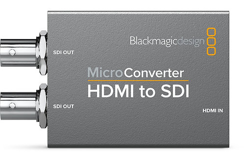 Blackmagic Design Micro Converter HDMI to SDI with Power Supply CONVCMIC/HS/WPSU