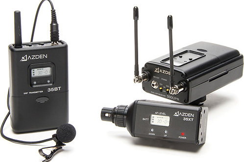 AZDEN 330LX - UHF DUAL-CHANNEL WIRELESS SYSTEM
