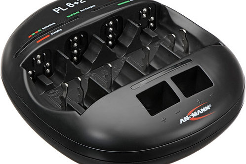 Ansmann PL6 + 2 Battery Charger