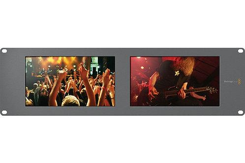 "Blackmagic Design SmartView Duo Rackmountable Dual 8"" LCD Monitors HDL-SMTVDUO2"