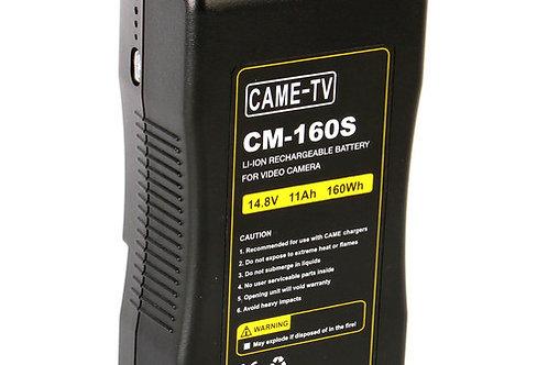 CAME-TV 160Wh Battery V-Mount for Video Cameras & Lights