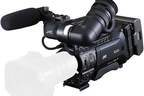 """JVC GYHM850C14 1/3"""" ProHD Shoulder Mount Camcorder with 14x ENG Zoom Lens"""