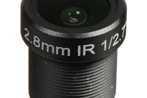 Marshall Electronics 2.8mm f/2.0 M12 3MP IR Lens for CV502-WPMB/WPM
