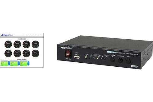 Datavideo NVS-25 H.264 Video Streaming Server with DVS-200 Cloud Server