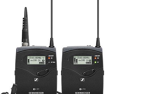 Sennheiser EW 112P G4 Camera-Mount Wireless Omni Lavalier Microphone System A