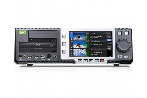 GRASS VALLEY T2 SERIES 2 IDDR INTELLIGENT DIGITAL DISK RECORDER 2X 500GB