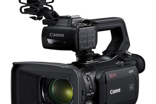 Canon XA50 UHD 4K30 Camcorder with Dual-Pixel Autofocus