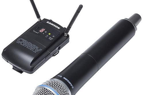Samson Concert 88 Camera-Mount Wireless Supercardioid Handheld Microphone System