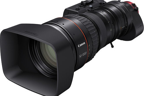 Canon CINE-SERVO 50-1000mm T5.0-8.9 with PL Mount