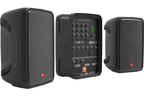 JBL EON208P Personal PA System with 8-Channel Mixer and Bluetooth