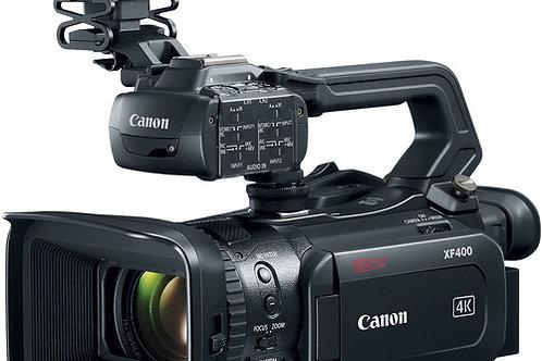 Canon XF400 UHD 4K60 Camcorder with Dual-Pixel Autofocus