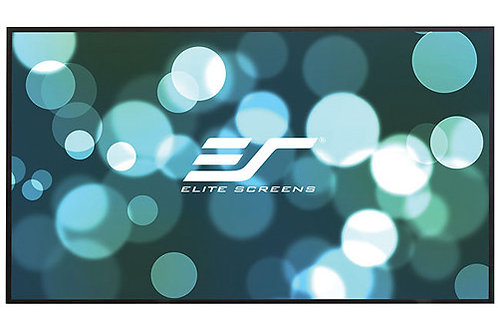 "Elite Screens Aeon 71.5 x 130.9"" 16:9 Fixed Frame Projection Screen with CineWhi"