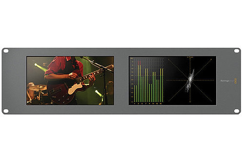 Blackmagic Design SmartScope Duo 4K Rack-Mounted Dual 6G-SDI Monitors