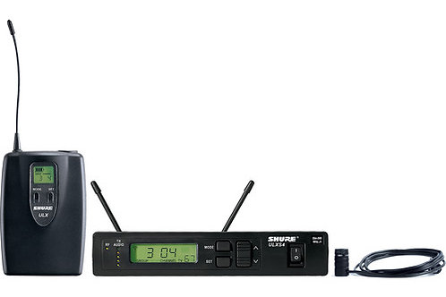 Shure ULX Professional Series - Wireless Lavalier Microphone System