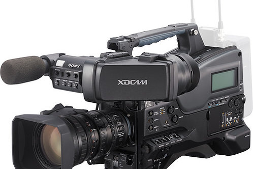 Sony PXW-X320 XDCAM Solid State Memory Camcorder with Fujinon 16x Servo Zoom Len