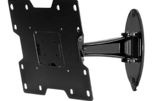 eerless SmartMount Pivot Wall Arm - Wall mount for LCD TV - black - screen size: