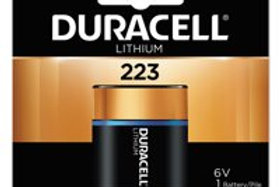 Duracell Ultra High Power Lithium Battery 223