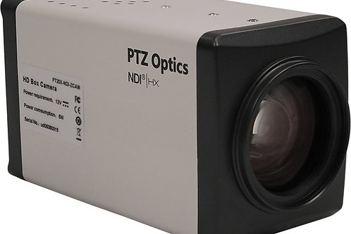 PTZOptics 20X 1080P NDIHX, Hd-SDI Box Camera