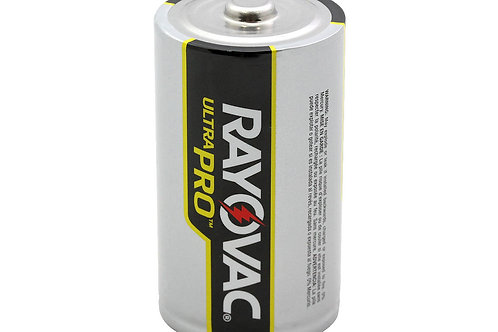 Rayovac Ultra Pro AL-D Alkaline Button Top Battery 2 Count