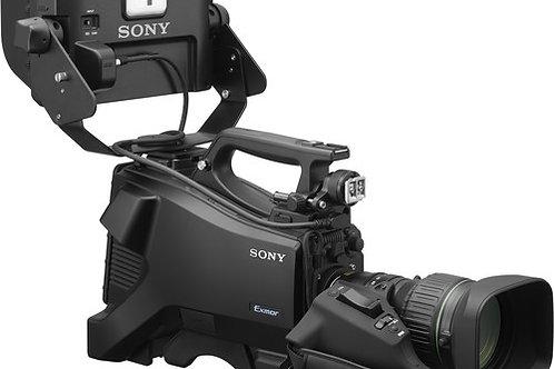 Sony HXC 1080/60P HD Studio Camera with HDVF-750 7 Studio VF & 20X Lens