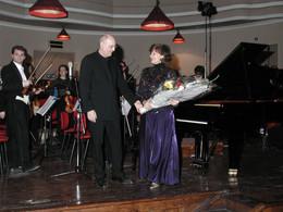 con Licia Lucas e l'Orchestra Filarmonica di Torino