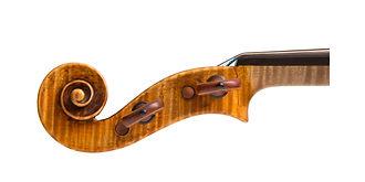 Violine Gaetano Antoniazzi 1890 - Scroll