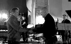con il compositore Alberto Colla