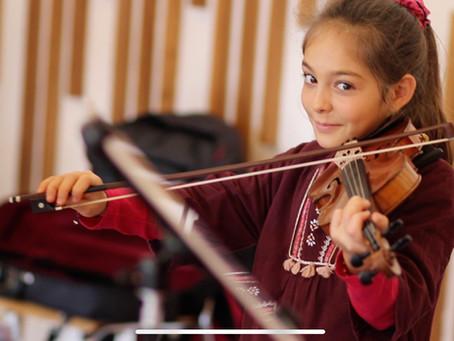 'Les Violons dans les Vignes' Violin Masterclass