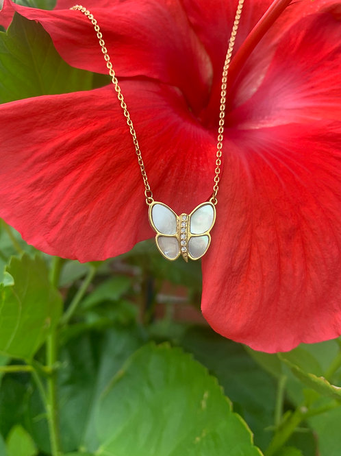 Mariposa Gold Necklace