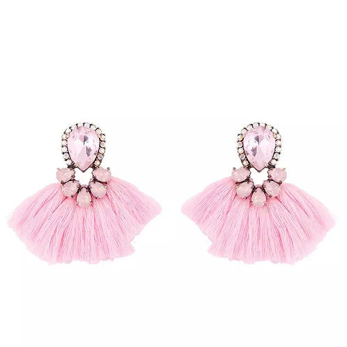 Daisy small tassels in baby pink