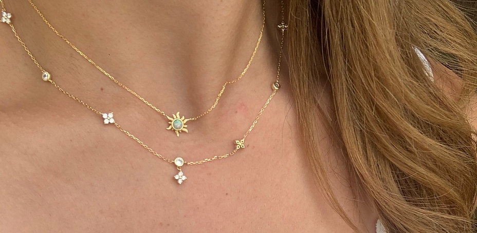 Dainty necklaces