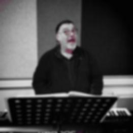 Jean Paul en répétition avec Rue Bixkub
