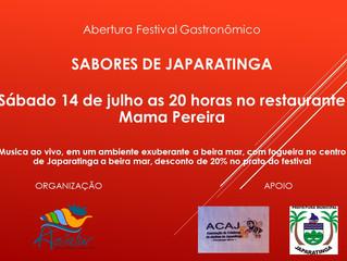 Festival Gastronômico SABORES DE JAPARATIGA