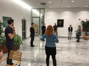 Zaključek drugega sklopa treningov na Zdravniški zbornici Slovenije