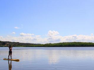 Stand UP no rio Mangualba