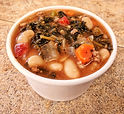 Spicy Sausage & White Bean Soup