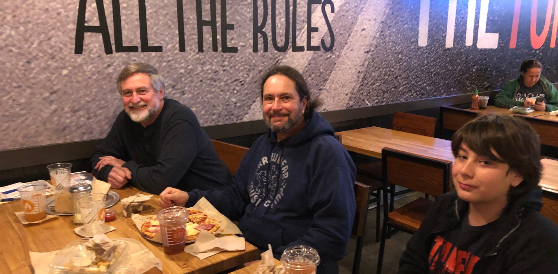 Jeff Haberman, David James, Jack James.j