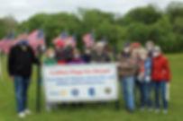 Crofton_Flags_for_Heroes_Raising_Memoria