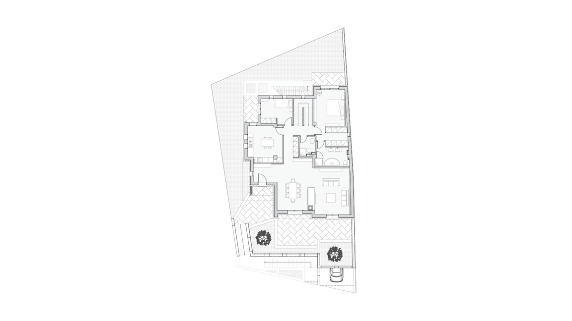 GROUND FLOORPLAN | LEVEL 0