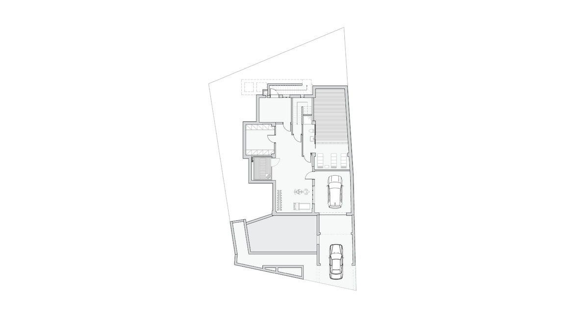 BASEMENT FLOORPLAN | LEVEL -1