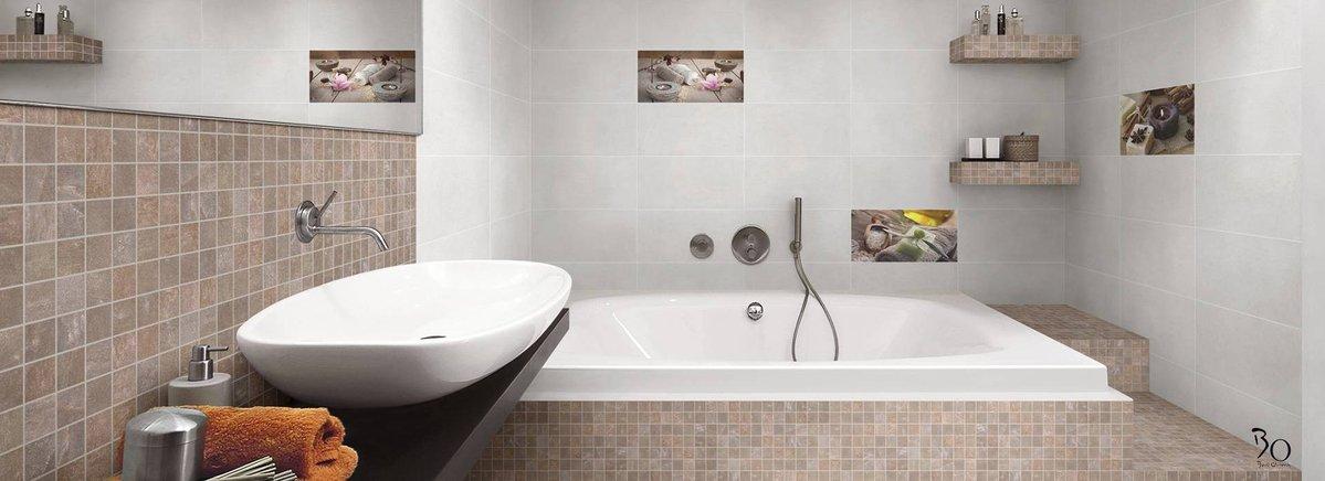 Stone Mosaic, Sandstone Brown