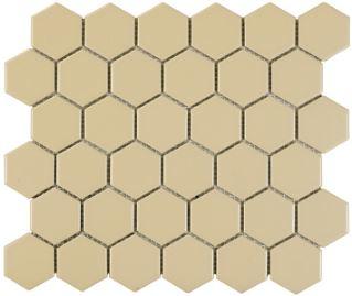 Beige Hex Mosaic
