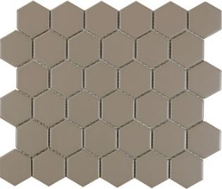 Grey Matte Hex Mosaic
