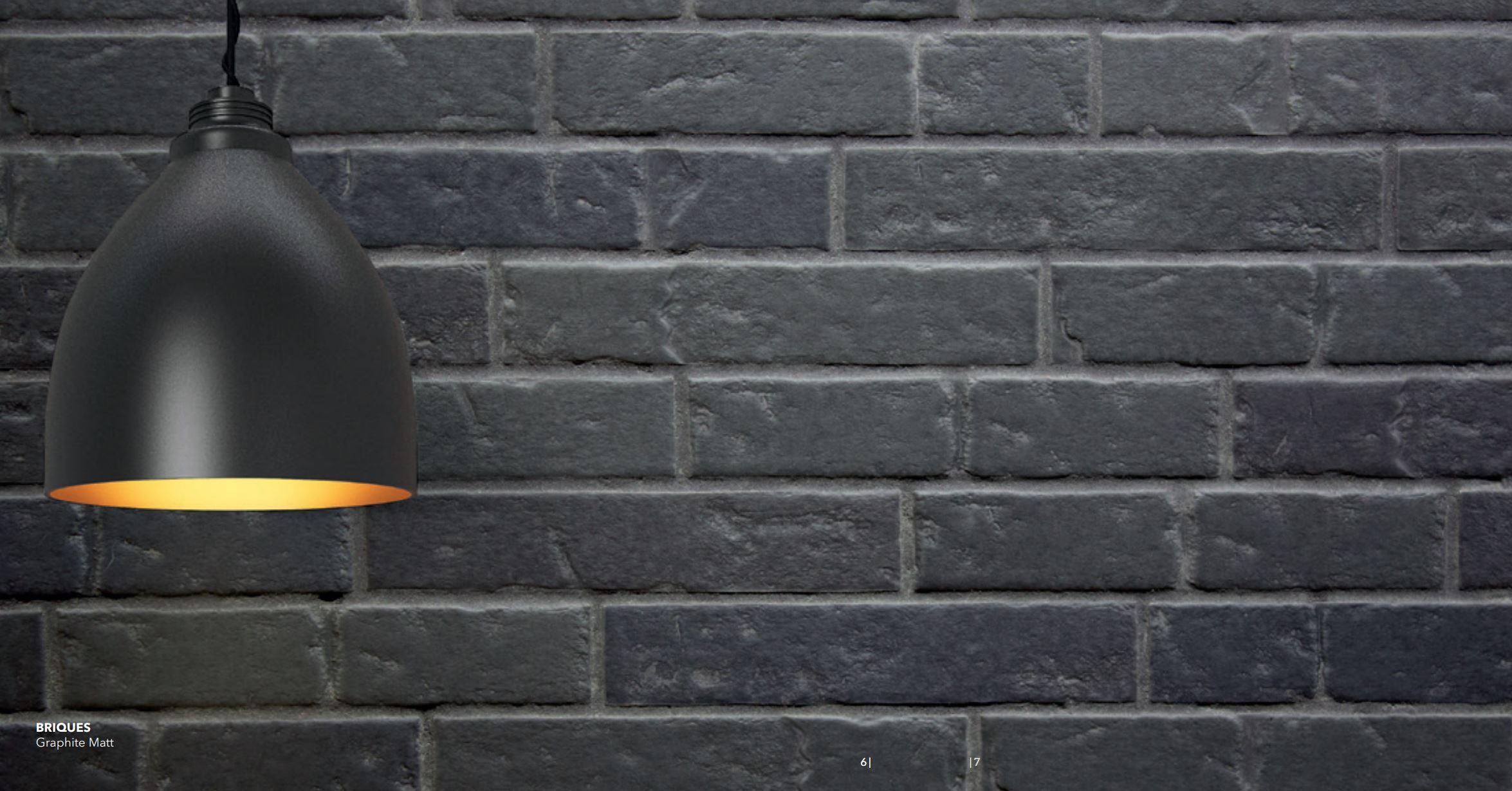 Briques Graphite Matte