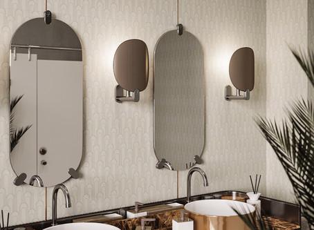 New ICTC - Epoque 8x8 Floor & Wall porcelain pattern tile.