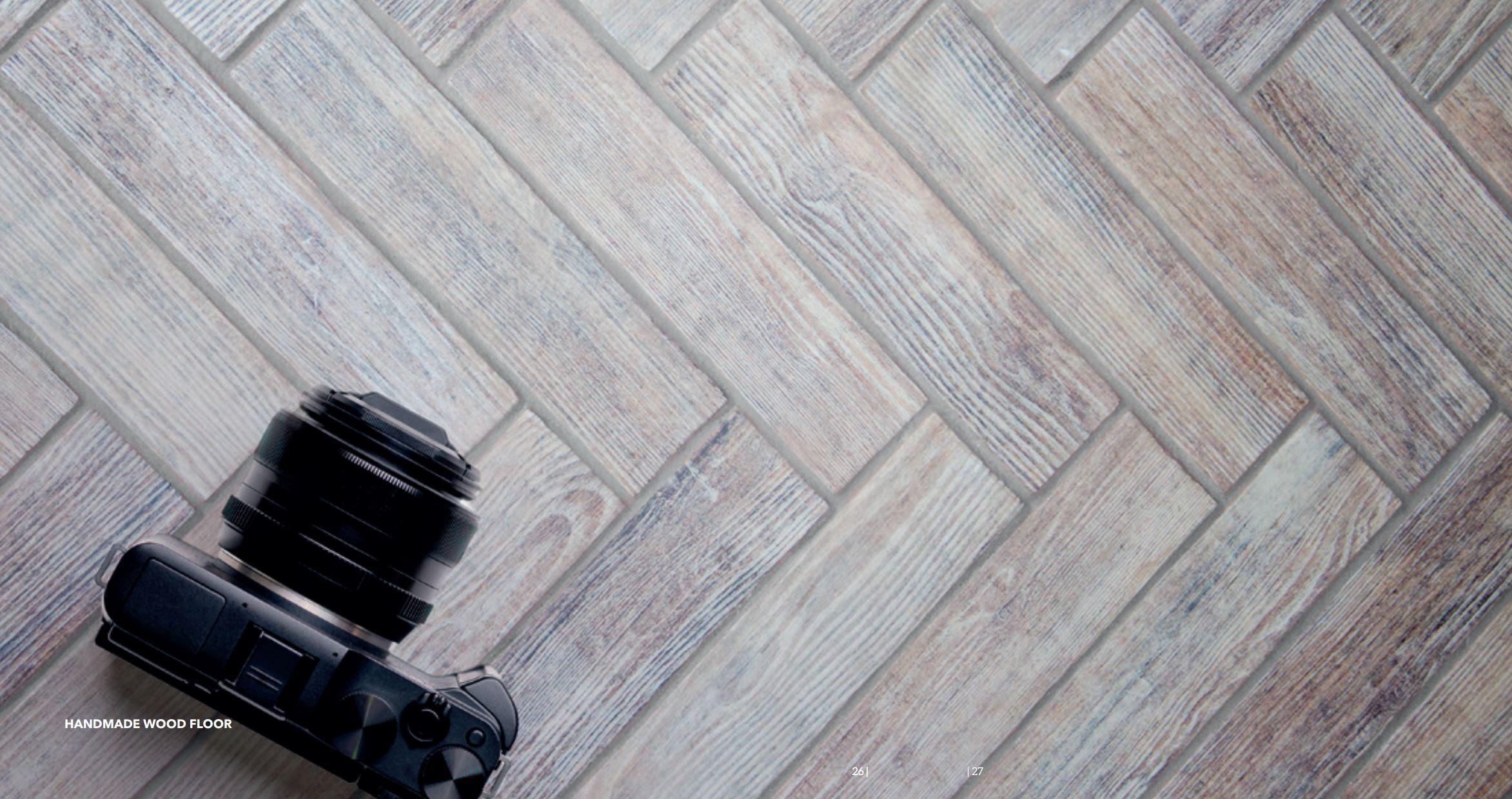 Briques Handmade Wood Floor