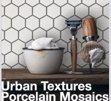 White Matte Hex Mosaic