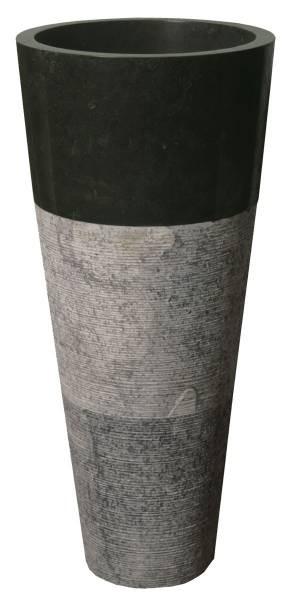 Black Bowl Washbin Pedestal